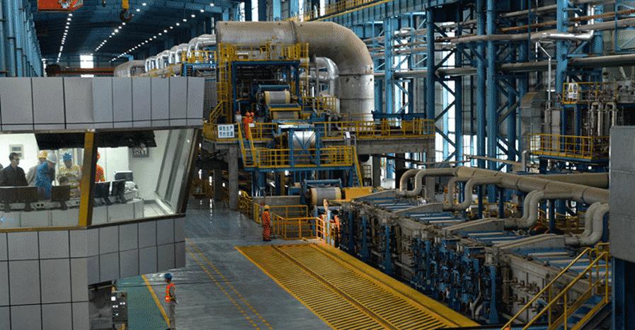 不锈钢钢厂介绍之宝钢德盛