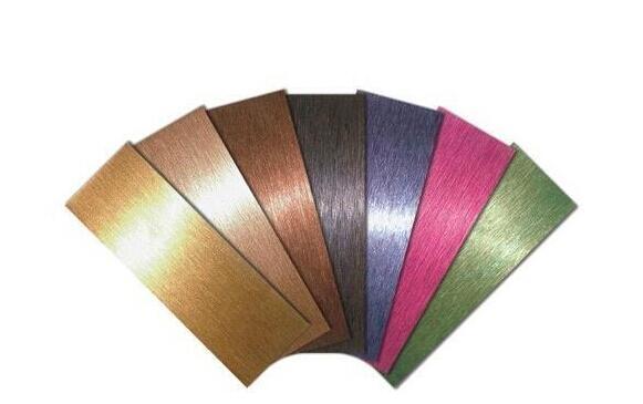 不锈钢表面加工方法及用途